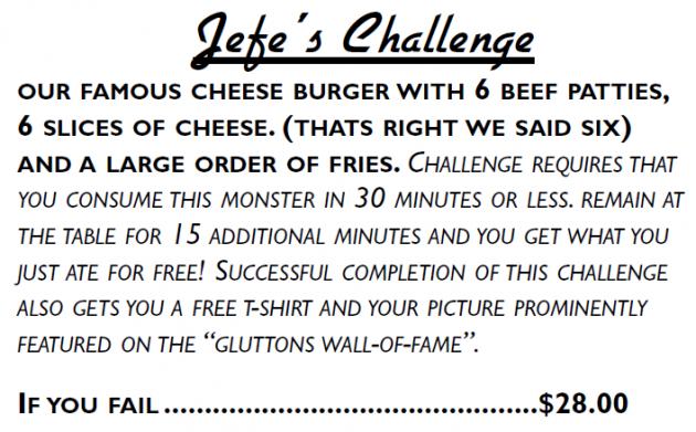 Jefe's Challenge Alamo Springs