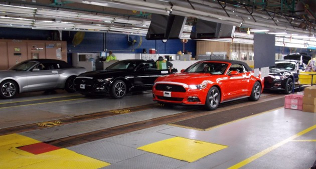 2015 Ford Mustang convertible shipping now
