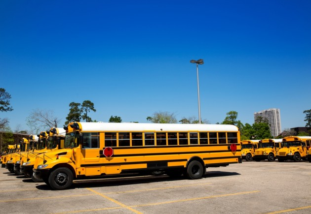 history of the school bus