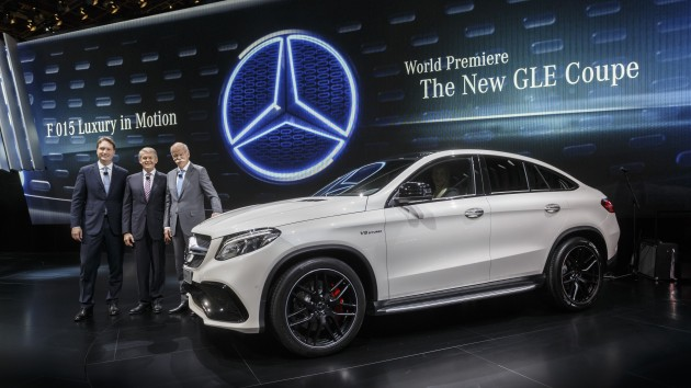 Mercedes-AMG GLE63 Sport Coupe Unveiled in Detroit