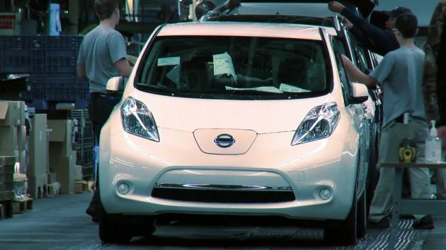 Nissan LEAF - 1 Millionth Nissan US Export