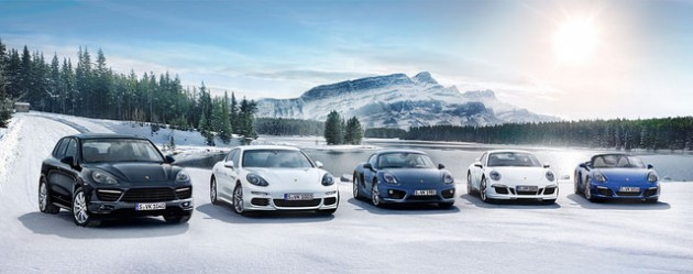 2014 Porsche Lineup