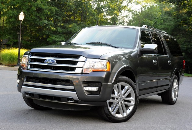 2015 Ford Expedition Earns NHTSA Five-Star Rating