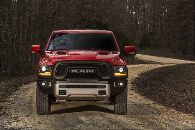 2015 Ram 1500 Rebel: Fiat Chrysler Automobiles at the 2015 New York International Auto Show