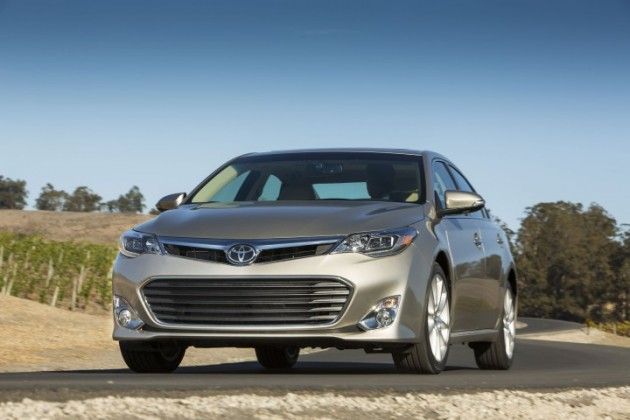 2015 Toyota Avalon safety rating