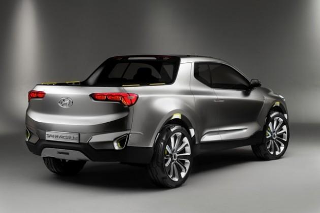 Hyundai Santa Cruz Crossover_Truck_Concept 2