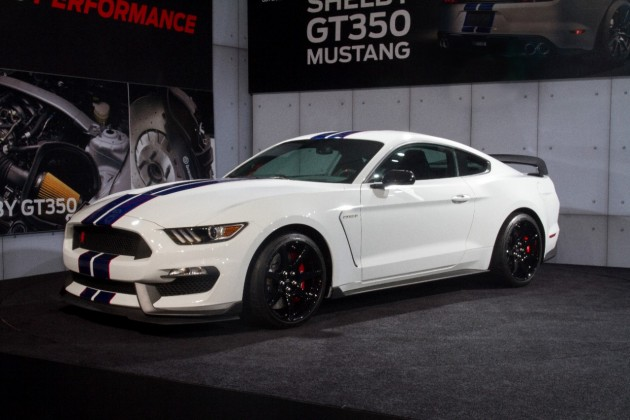 first 2016 Shelby GT350R Mustang