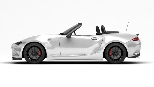 BBR-Tuned 2016 Mazda MX-5 white exterior convertible