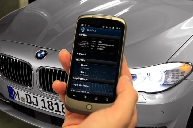 BMW Connected Car Data Smartphone Control Privacy Digital