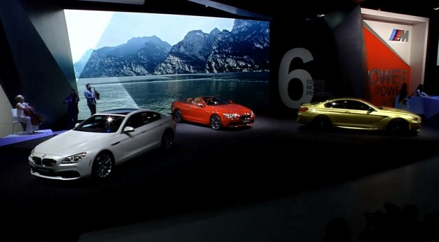 BMW debut Detroit 2 M6 and 6-Series Unveiled in Detroit