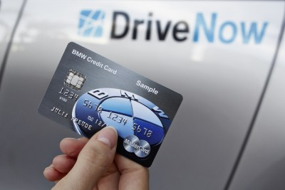 BMW's Connected Technology credit card key