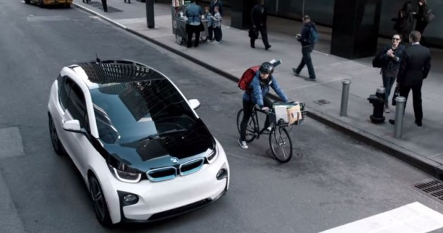 BMW's Super Bowl Ad 3 i3 Couric Gumbel electric