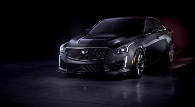 CTS-V sizzle