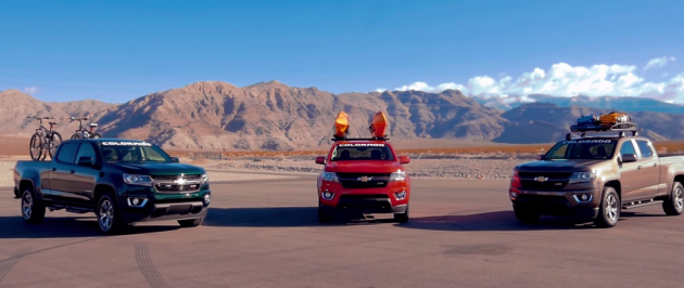 A multitude of 2015 Colorado accessories are on display in a new video from Chevrolet Performance