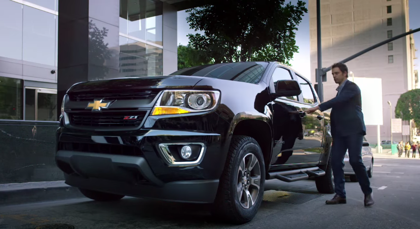 2015 Chevy Colorado Is Back In Black For New Car Commercial The News Wheel
