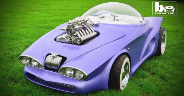 Cosmotron Cosmotron: A Life-Size Hot Wheels Car Based on BMW Z3 Chassis