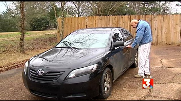 Dr. Landrum and his 2007 Camry Photo: WLBT
