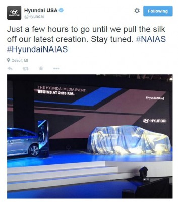 Hyundai NAIAS Tweet Detroit