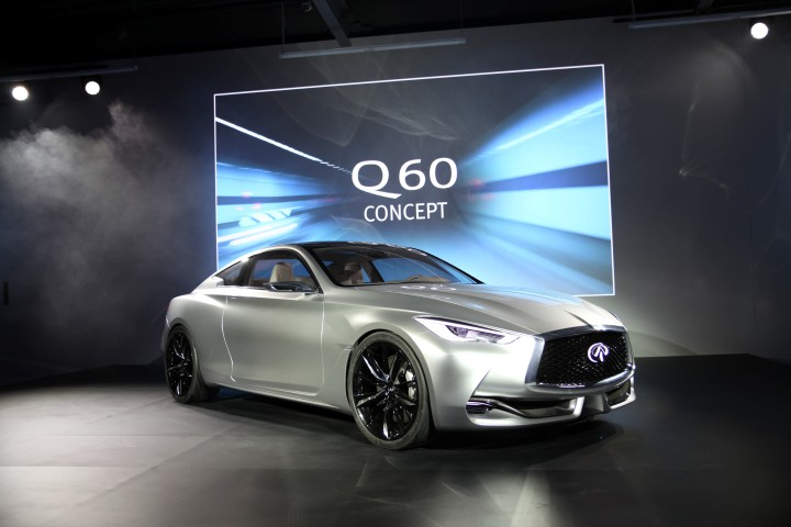 Infiniti Q60 Concept Reveal