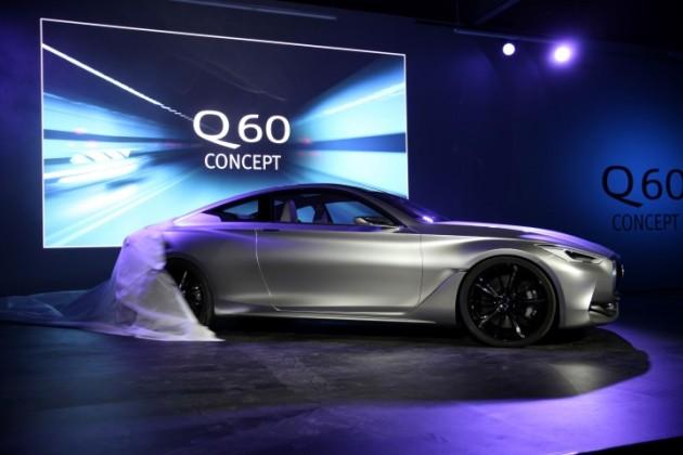 Luxury Vehicle: Infiniti Q60 Concept Reveal At Detroit Auto Show