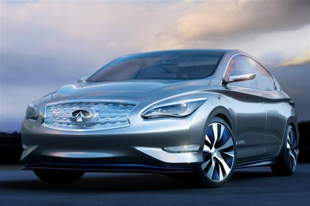 Infiniti electric car