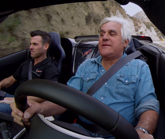 Jay Leno Gets Pulled Over In A 2015 Corvette Z06 [VIDEO