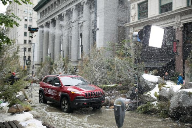 "Jeep's ""River in the City"" ad"