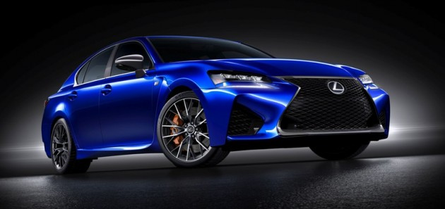 Lexus GS F Front Side