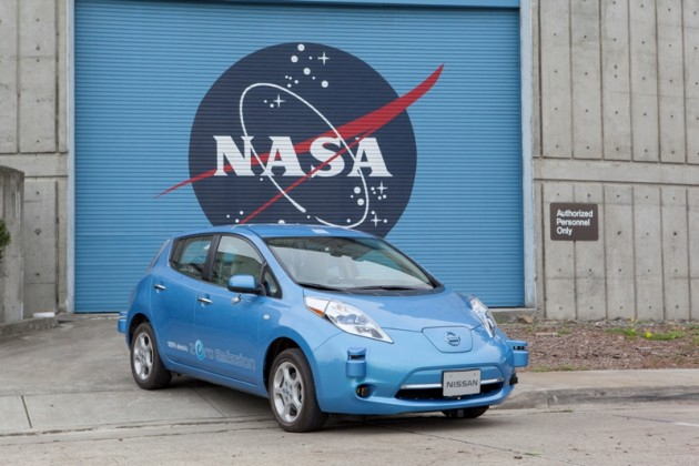 NASA Nissan Leaf