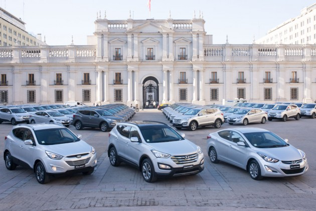 Off-Lease Hyundai Vehicles fleet for presidential