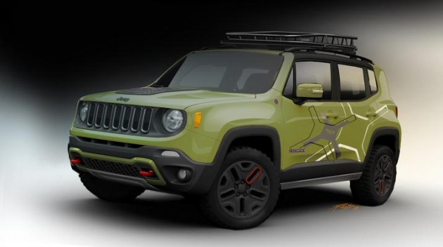 Mopar at the Detroit Auto Show | Off-Road Jeep Renegade