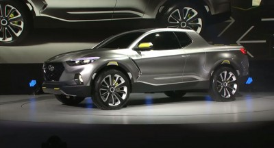 Hyundai's Santa Cruz Concept at Chicago Auto Show