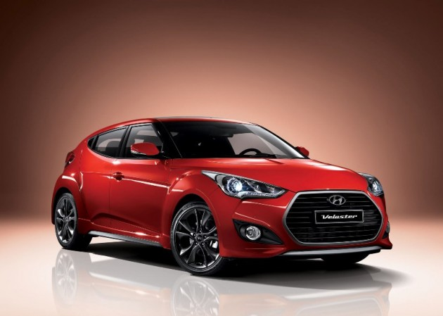 Upgraded Veloster Transmission red exterior redesign refresh Korea
