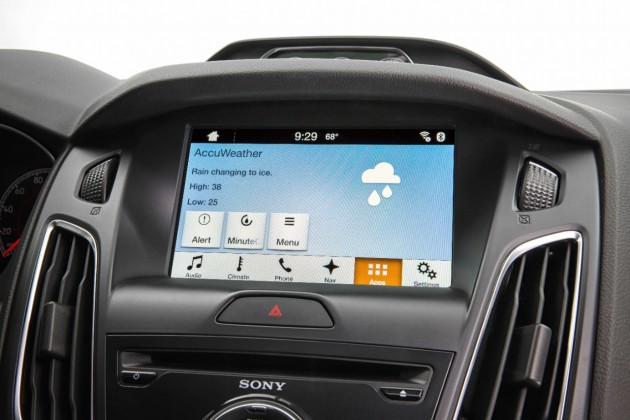 Ford AccuWeather MinuteCast