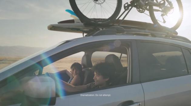 New Subaru Commercial Portrays 2015 XV Crosstrek as Fountain of Youth