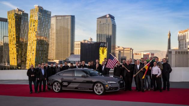 Self-Driving Audi A7