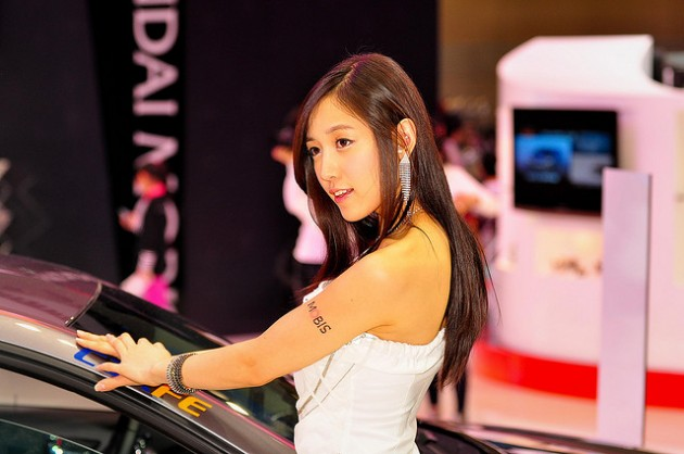 Sexy Auto Show Girls Asian Models by J Sam