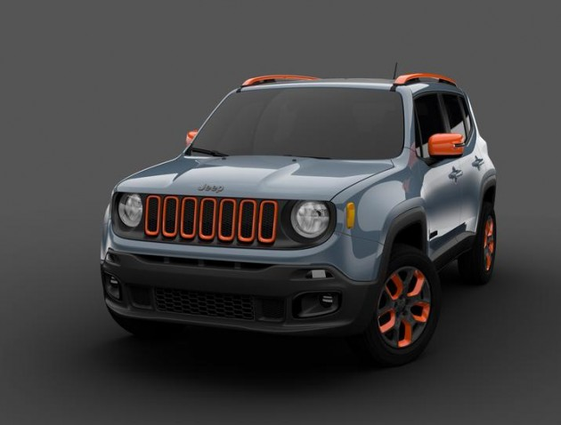 Mopar at the Detroit Auto Show | Urban Jeep Renegade