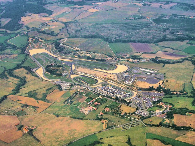 Vallelunga.race.circuit.in.italy.arp connected car test track example race track