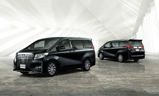 Toyota Alphard minivan