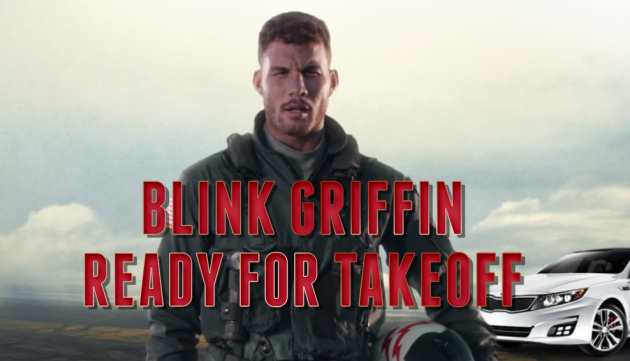 Still image from the Blake Griffin staring contest online