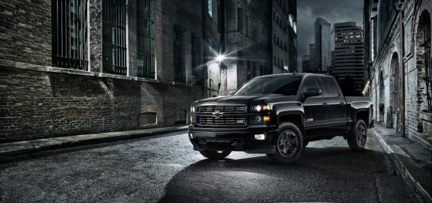 The 2015 Silverado Midnight Edition, on display now in San Francisco