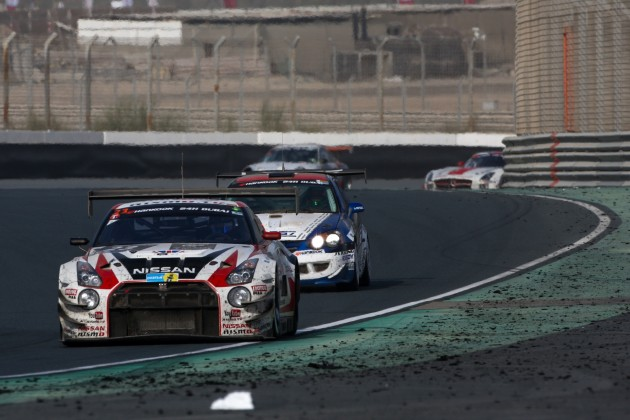 GT Academy Nissan GT-R at Dubai 24 Hours