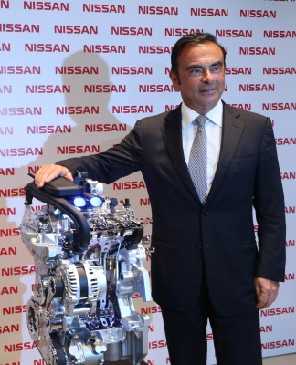 Nissan 3-cylinder engine