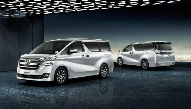 Toyota Vellfire minivan