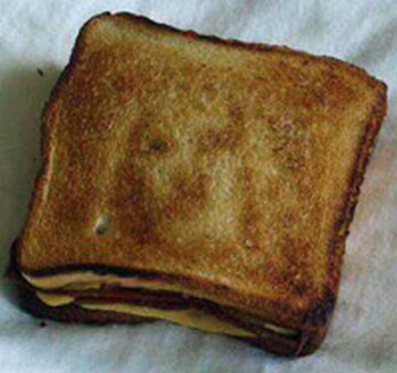 Jesus Grilled Cheese Toast