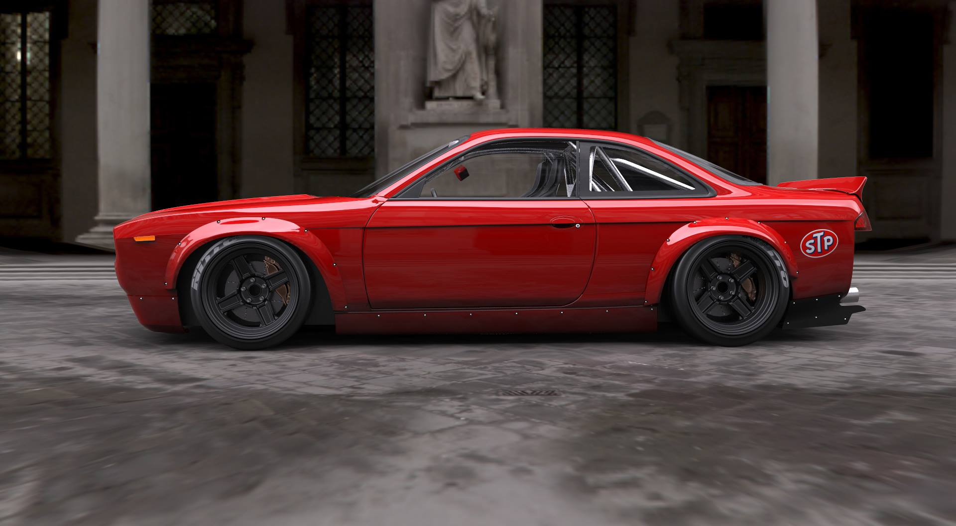 Rocket Bunny Cuda Body Kit S14 The News Wheel
