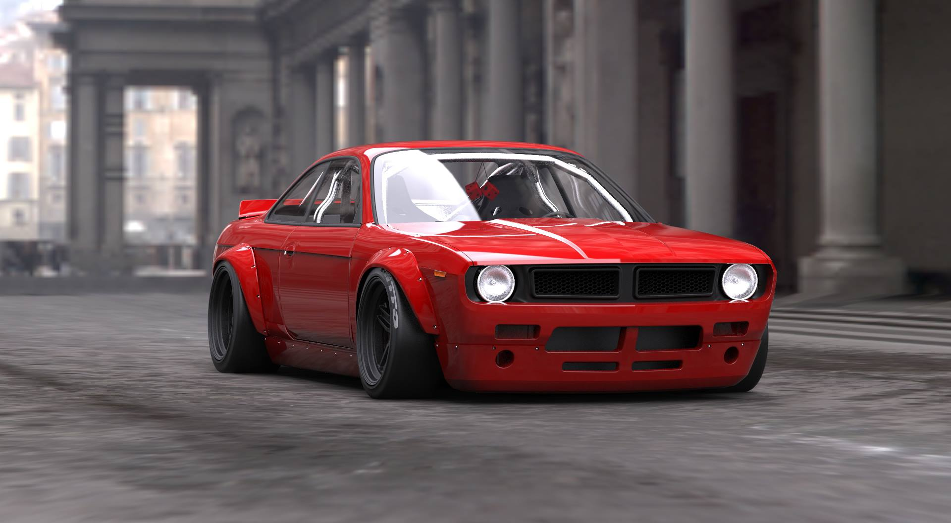Rocket Bunny Body Kit Turns Your S14 Into A Plymouth Cuda The