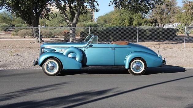 1937 Buick Century Convertible