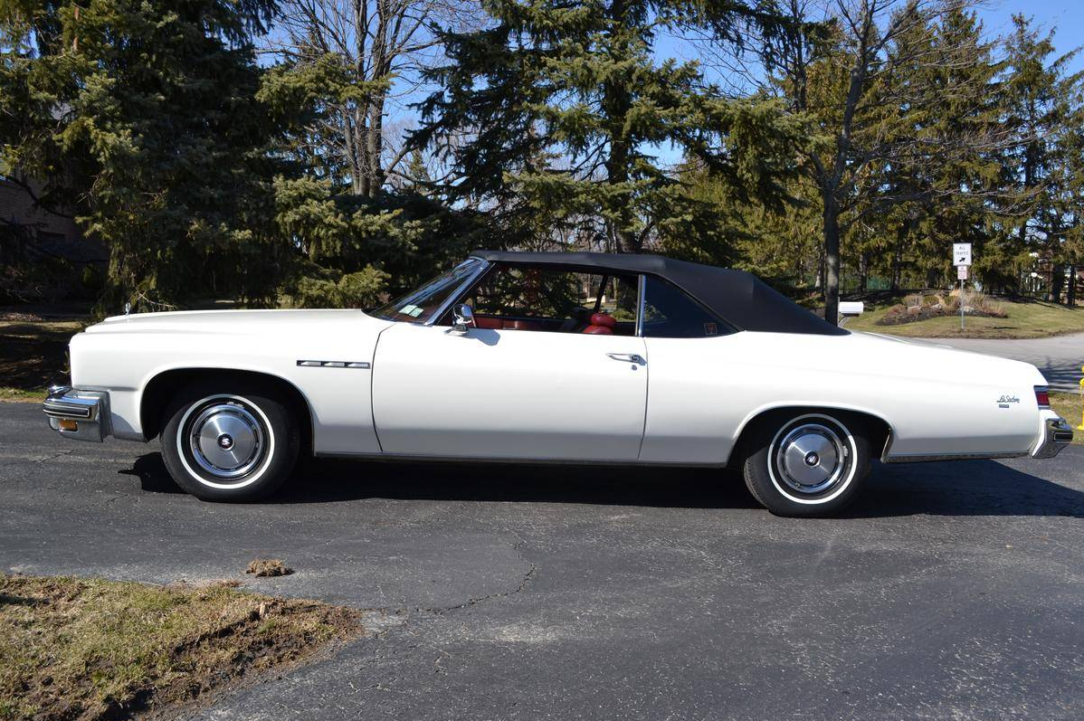 found on hemmings cherry 1975 buick lesabre the news wheel. Black Bedroom Furniture Sets. Home Design Ideas